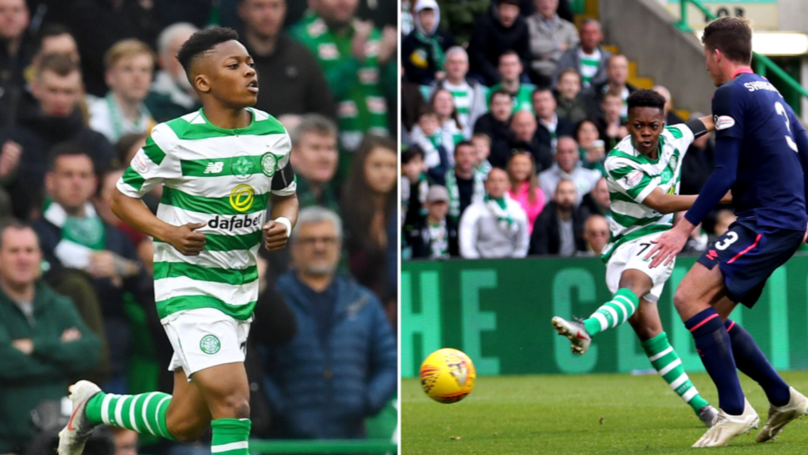 Teenage Sensation Karamoko Dembele Makes Celtic Debut, Aged 16