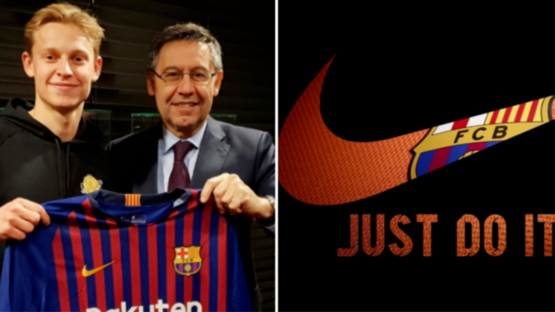 Frenkie De Jong Has Gone Against Nike's Request For Barcelona Move