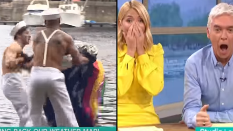Alison Hammond Accidentally Knocks Guy Into The Docks Live On 'This Morning'