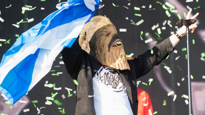 Lewis Capaldi Wins Feud With Noel Gallagher After Appearing In Chewbacca Mask At Festival