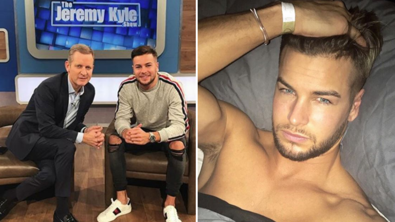 Chris Hughes Appears On Jeremy Kyle Show Stage Following Split From Olivia Attwood