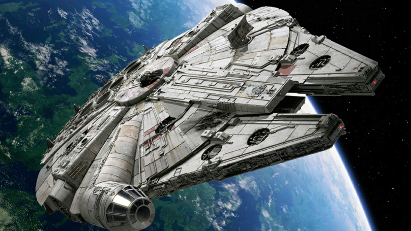 Disney Tried To Hide The Millennium Falcon, But It Couldn't Hide From Google