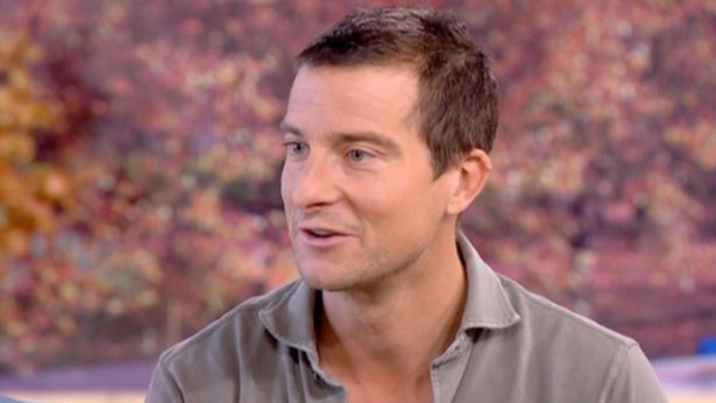 Bear Grylls Makes Fire Live On 'This Morning' Using A Battery And Gum