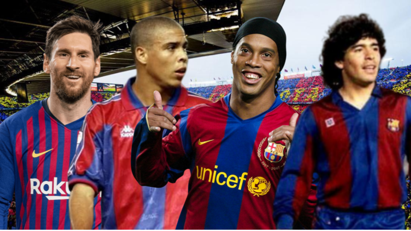 Barcelona's All-Time South American XI Features Messi, Ronaldo And Ronaldinho