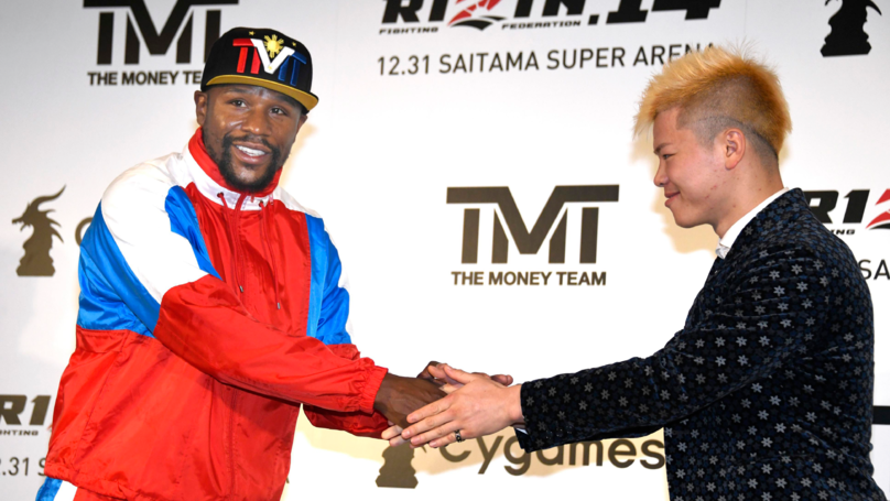 Floyd Mayweather Knocks Out Tenshin Nasukawa In Exhibition Match