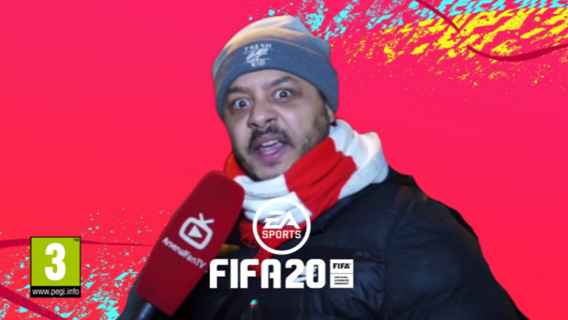 Troopz From Arsenal Fan TV Is An Announcer On FIFA 20