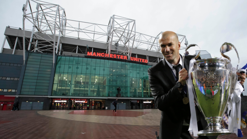 Manchester United Have Made Contact With Zinedine Zidane About Becoming Their New Manager