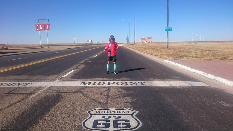 Man Runs More Than 15,000 Miles Recreating Route From 'Forrest Gump'