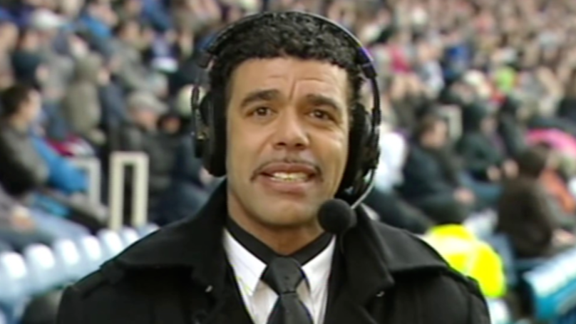 Nine Years Ago Today, Chris Kamara Missed Anthony Vanden Borre's Sending Off At Fratton Park