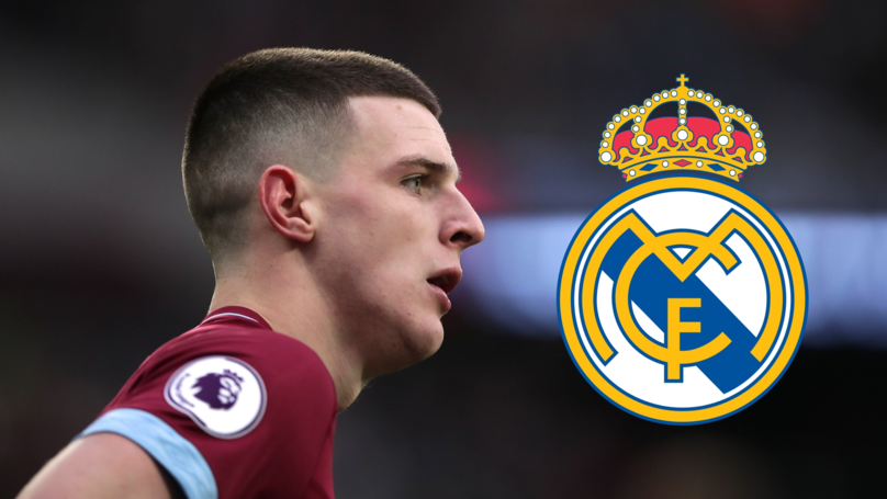 Real Madrid Are 'Knocking On The Door' For West Ham's Declan Rice