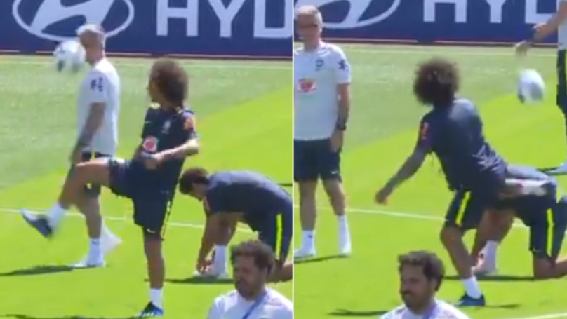 Marcelo Pulls Off His Most Outrageous Touch To Date In Brazil Training