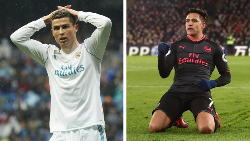 Alexis Sanchez Move To Manchester United Is Bad News For Cristiano Ronaldo