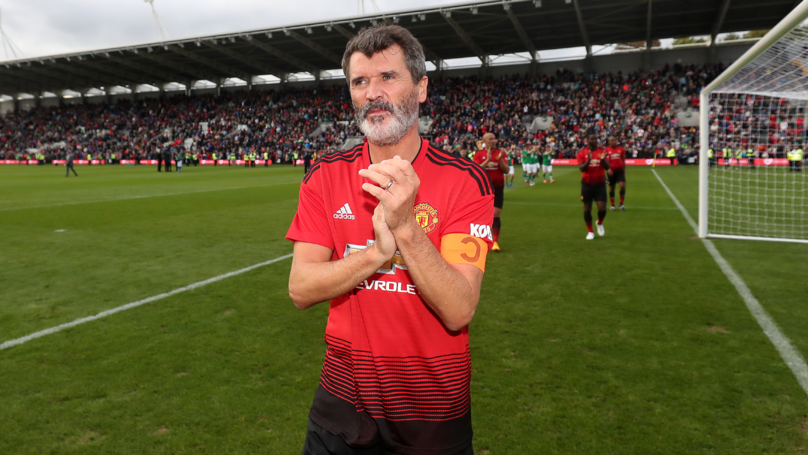98086826cfe The Incredible Moment Roy Keane Returned To Play For Manchester United 12  Years On