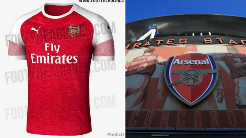 Arsenal's Alleged New Kit Design Leaked