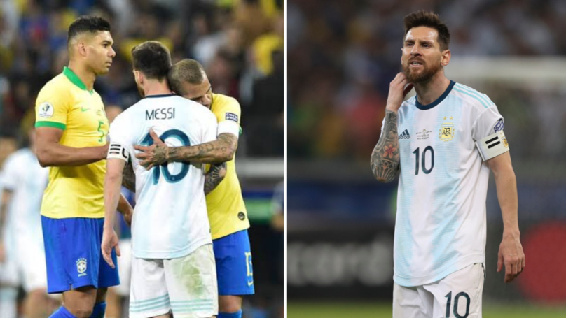 "Dani Alves: ""In Argentina Everything Is Lionel Messi's Fault. I Feel Sorry For Him"""