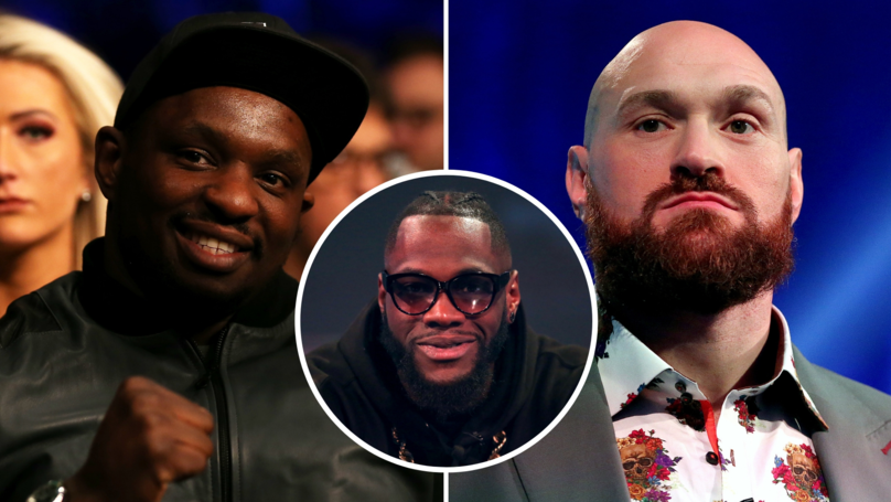 WBC Orders Tyson Fury And Dillian Whyte To Fight To Determine Deontay Wilder's Opponent