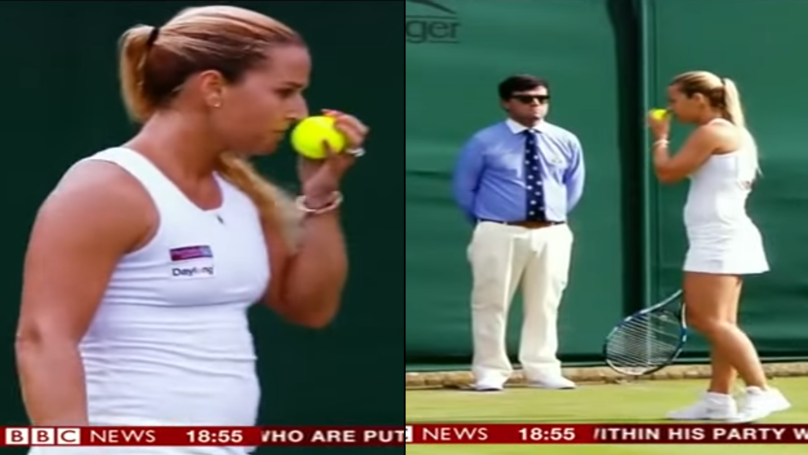 Wimbledon Fans Notice That Tennis Players Like To Sniff New Balls They're Given