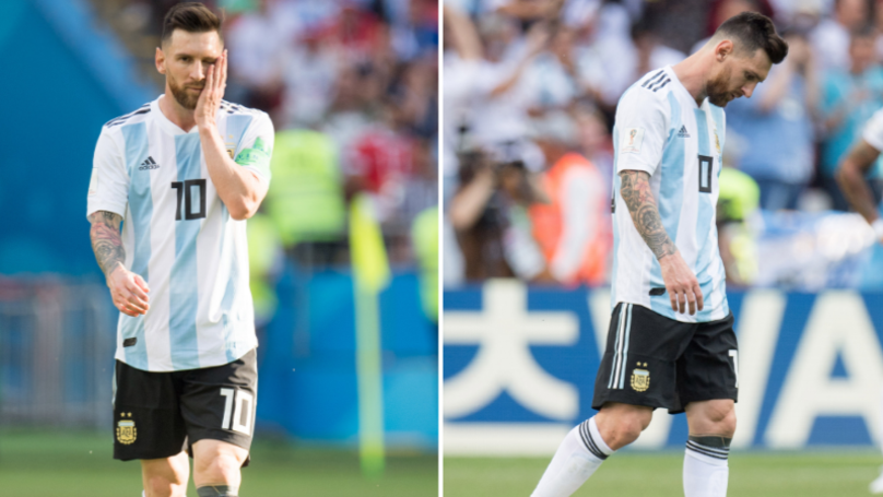 Coach Reveals When He Found Lionel Messi Crying Over Result