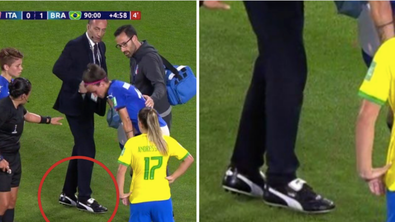 Italy's Team Doctor Pulls Off Armani Suit And Puma Kings Outfit At World Cup