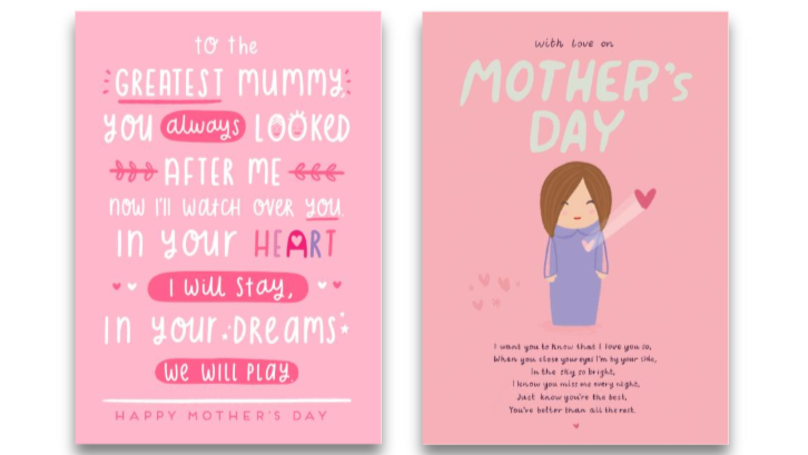 Mother Whose First Baby Was Stillborn Creates Beautiful Range Of Mother's Day Cards