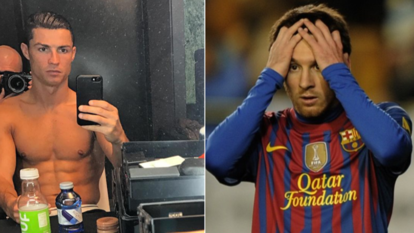"Cristiano Ronaldo Once Stood Naked In Front Of Mirror And Said: ""But Lionel Messi Doesn't' Look Like This"""