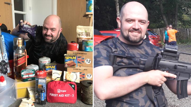 Scottish Man Spends Over £2K Prepping For Post-Brexit Doomsday