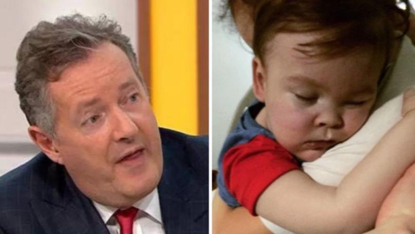 WATCH: Piers Morgan Defends Alfie Evan's Parents On Good Morning Britain