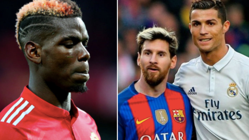 Who Paul Pogba Said Would Break The Ronaldo/Messi Monopoly Looks Crazy Now