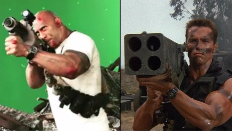 ​There's Something The Rock Can't Do – Arnie Impressions