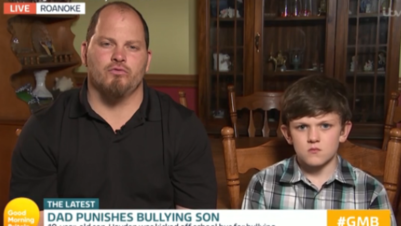 'Good Morning Britain' Viewers Torn Over Bully Dad Who Made Son Run To School