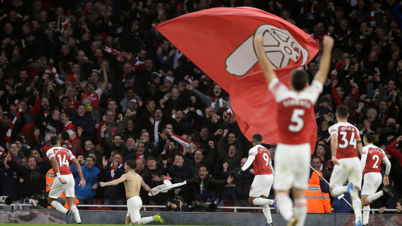 Stat Shows Just Why Arsenal Are Ahead Of Manchester United