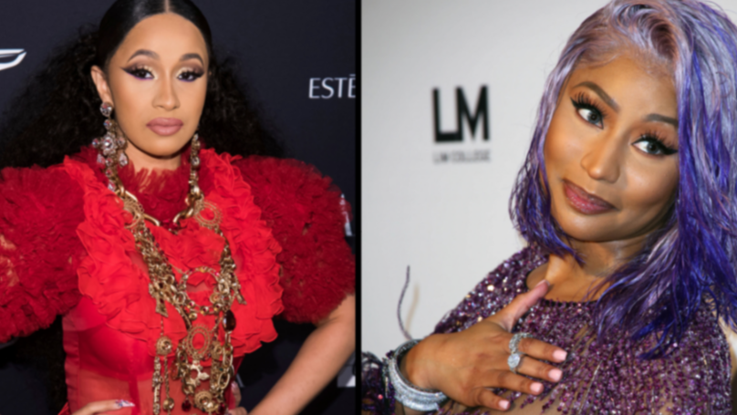 Cardi B And Nicki Minaj Brawl At New York Fashion Week