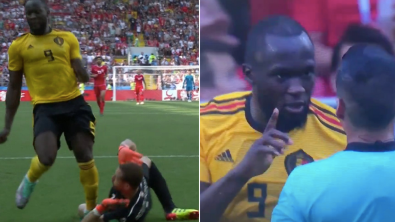 Romelu Lukaku Tells Referee To Not Give Belgium A Penalty In Great Act Of Sportsmanship