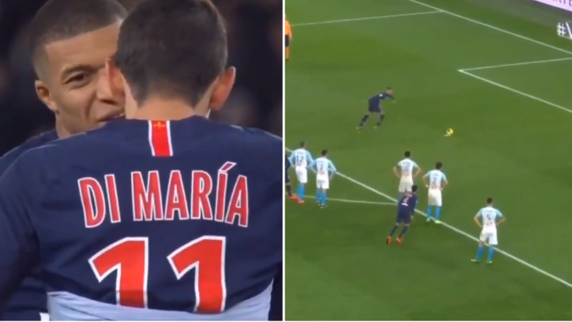Mbappe Refuses To Give Penalty To Di Maria When He Was On A Hat-Trick And Misses It