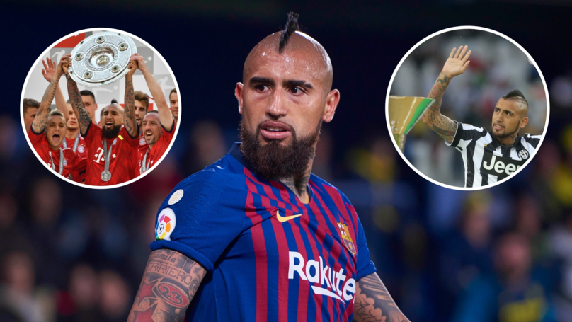 Arturo Vidal Is Closing In On His Eighth Domestic League Title In A Row