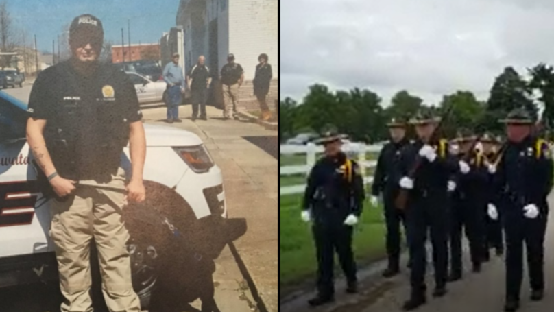 Police Hold Funeral For K9 After He Was Killed In Line Of Duty
