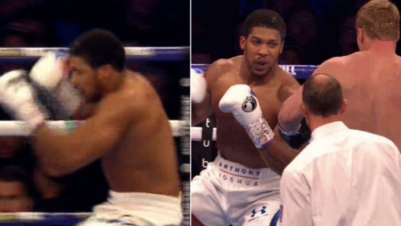 Anthony Joshua Defeats Alexander Povetkin At Wembley Stadium