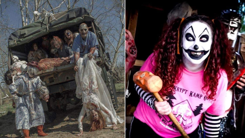 Kim's Krypt Haunted Mill Sounds Like The Most Terrifying Experience Ever