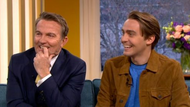 Bradley Walsh Fans Are Swooning Over His Son Barney Walsh