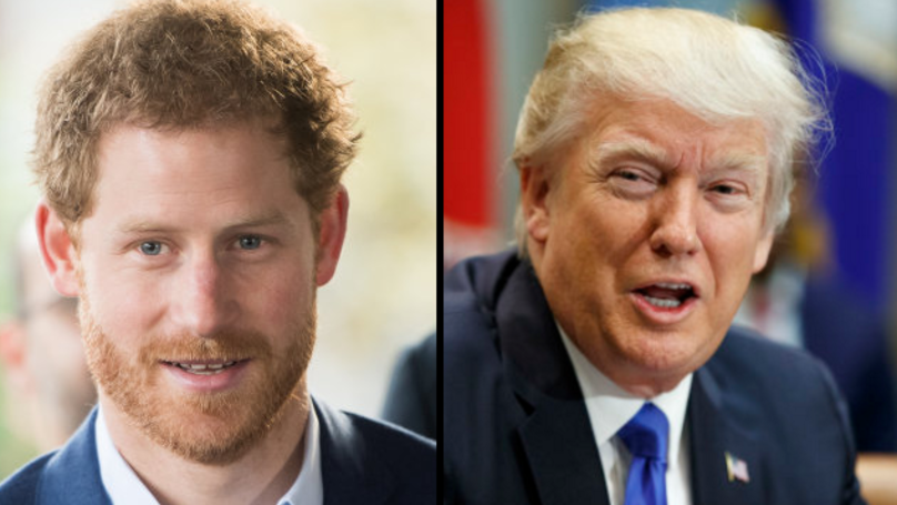 Prince Harry Has Shared His Opinions About President Trump