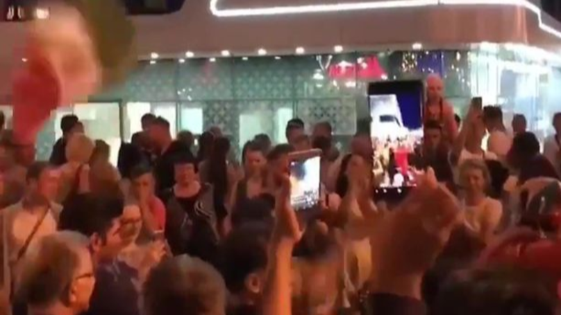 Iran Fans Turn Up Outside Ronaldo's Hotel To Wake Him Up