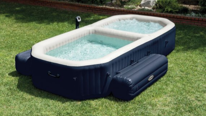 This Hot Tub From Argos Is Worth Over A £1200 And Now It's More Than Half Price