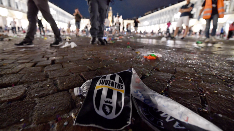 Panicked Football Fans Cause Stampede After Firecrackers Set Off In Italy