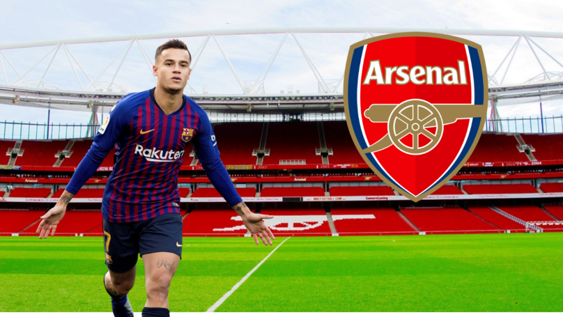 Arsenal Are Favourites To Sign Philippe Coutinho From Barcelona
