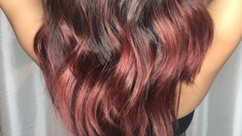 Red Wine Hair Colour Is The Trend For Christmas