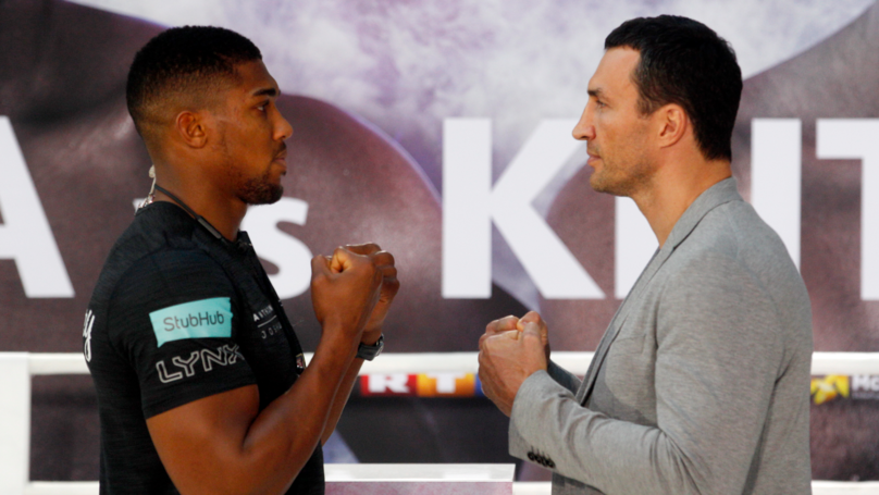 Anthony Joshua's Training Regime Ahead Of Klitschko Fight Is Insane