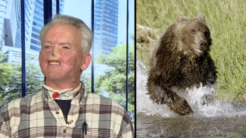 Twitter Users Have Little Sympathy For Hunter Who Had Face Torn Off In Bear Attack