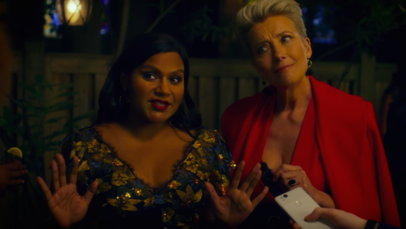 The First Trailer for Mindy Kaling and Emma Thompson's New Film Just Dropped And We're Still Laughing
