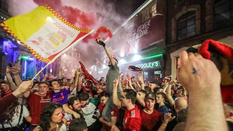 Liverpool Fans Celebrate All Night Following Champions League Win