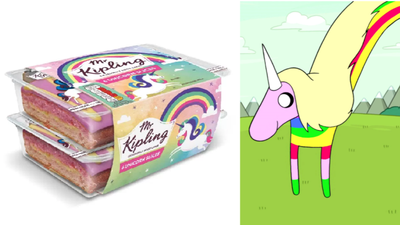 Mr Kipling Has Introduced 'Unicorn Slices' And They're Only A Quid